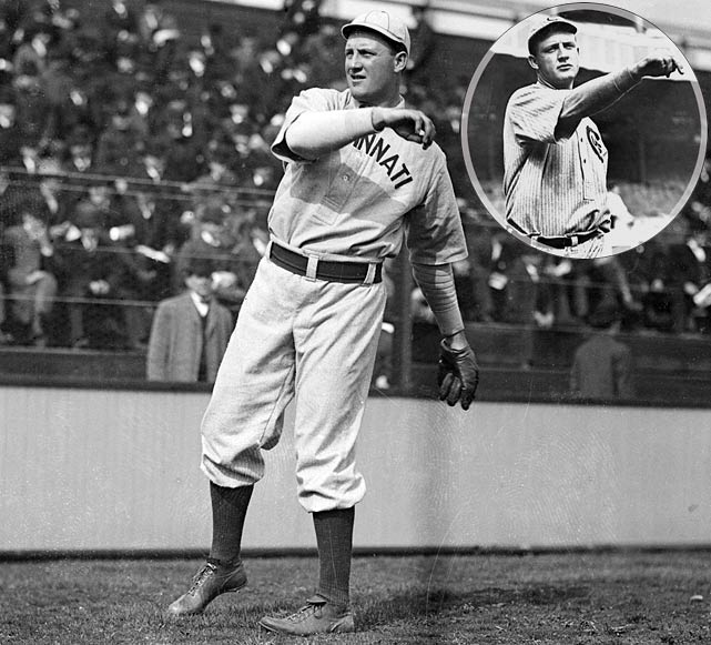 A late addition to the team, knocking out Oleg Ogorodov, a Uzbek tennis player once ranked 101st in the World. Double O compiled a 108-71 record with the Cincinnati Reds and Chicago Cubs in the early 1900s. He won 23 games in 1907, second in the NL to only Christy Mathewson (24).