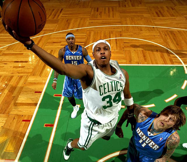 Whether or not he wins another championship with the Celtics this season.