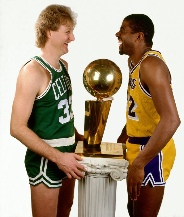 The Celtics-Lakers rivalry was reborn in the 1980s as Larry Bird and Magic Johnson led their respective teams to eight of the decade's 10 championships. SI takes a look back at the rivalry.