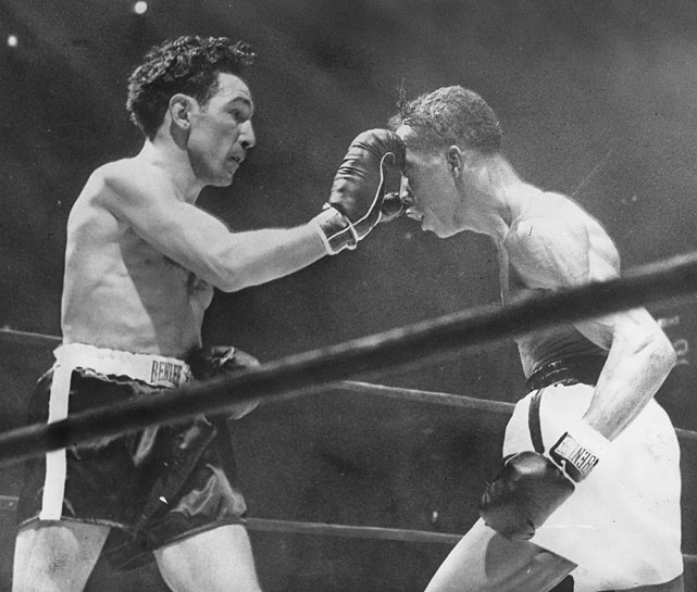 The third installment of the famous four-bout series between Saddler and Pep came to a premature finish after the seventh round, when Pep retired with a separated shoulder despite a considerable lead on all three scorecards. Saddler walked away with the precious rubber-match victory and the world featherweight championship.