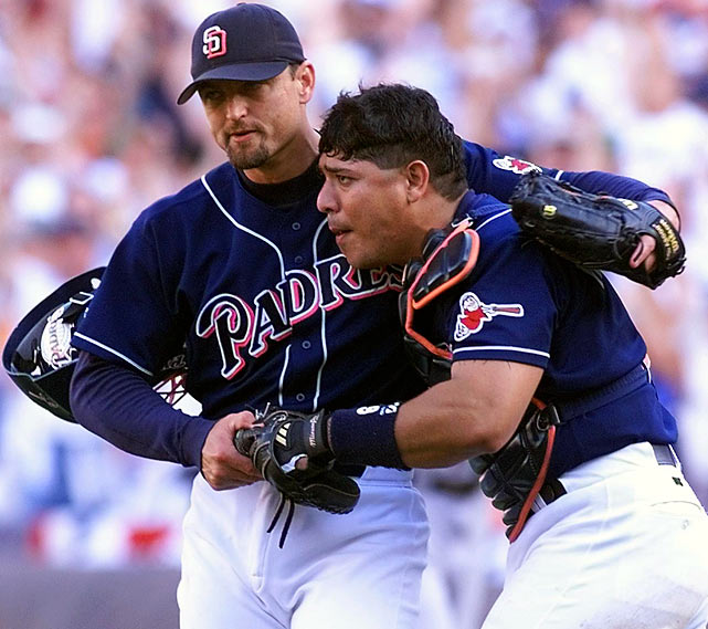 San Diego returned to the NLCS in 1998 against the Atlanta Braves thanks to a 50-home run season by Greg Vaughn and a the consistent hitting of future Hall of Famer Tony Gwynn. The Padres stole Games 1 and 2 in Atlanta (the first in 10 innings), then traveled home to Qualcomm Stadium and beat Braves ace Greg Maddux. The win put San Diego in the driver's seat, up 3-0, and was the only game in the series won by the home team. The Padres put the series away in Atlanta four days later.