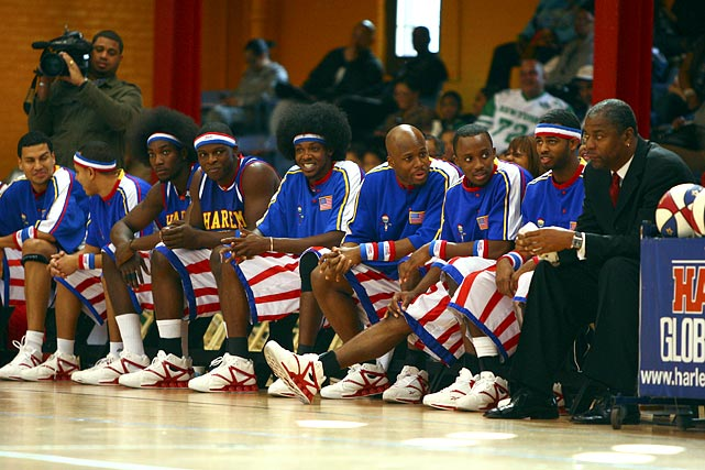 There could be a third New York-area team with eyes on LBJ this offseason, and unlike the Knicks and the Nets, this one offers the opportunity to win right now. The Harlem Globetrotters reportedly offered James and Dwyane Wade contracts laden with ownership and merchandising incentives to lure them to the team with a career record of 23,646-345. No word on the Washington Generals' interest in Joe Johnson or Chris Bosh.