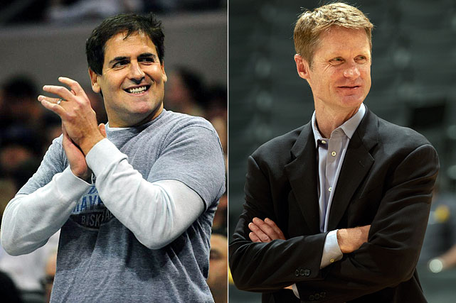 "Mavericks owner Mark Cuban traditionally matches every dollar he is fined by the NBA with a donation to a charitable cause. He may be in line for another write-off after a May interview with CNNMoney.com, during which Cuban responded to a question about his interest in James by saying that if the star forward decided he wasn't going to ""leave the Cavs high-and-dry,"" then he could possibly try to force a sign-and-trade. Cuban said that scenario gives his Mavericks ""a chance"" at obtaining James' services. For his candor, Cuban was slapped with a $100,000 tampering fine. <br><br>Suns GM Steve Kerr responded to the same query delivered by Dan Patrick on his May 14 radio show by joking that his team would be willing to offer James the mid-level exception of about 5.6 million, rather than the expected maximum contract of around $17 million per season that James is expected to require. David Stern (and working people everywhere) failed to see the humor and fined Kerr $10,000. Kerr later resigned in what he called a ""professional and a personal"" decision."