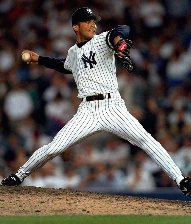 The best closer in baseball history actually debuted as a starter. He lasted just 3.1 innings against the Angels, giving up five runs on eight runs and striking out five. In all, he made 10 starts as a rookie, the only starts of his career, before being moved to the bullpen in 1996.