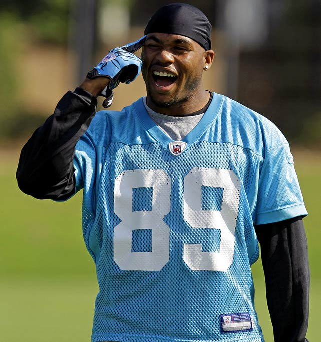It is a dubious honor, but inevitably some players trip over themselves --- occasionally, literally --- on the way to the All Injury-Prone NFL team. Here they are, starting with Steve Smith, who fractured his left forearm while playing flag football with kids at his camp on June 19. Despite often getting banged up, Smith still shows up and fights through his injuries for big numbers (except when he missing the 2004 season with a knee injury). He's expected to recover from his latest injury in time for the season opener.
