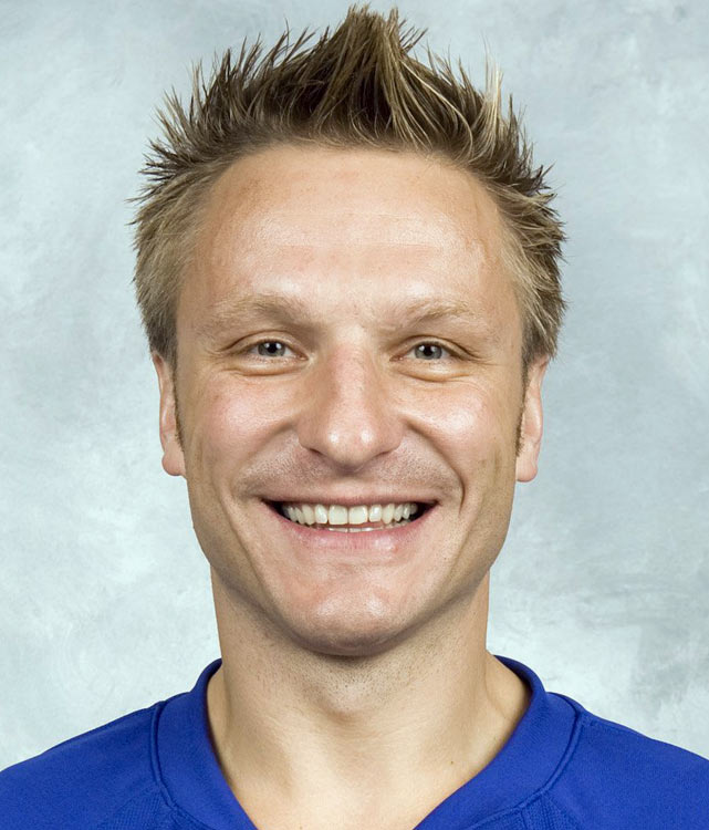 The Lithuanian blueliner proved that hockey is indeed a hair-raising sport.