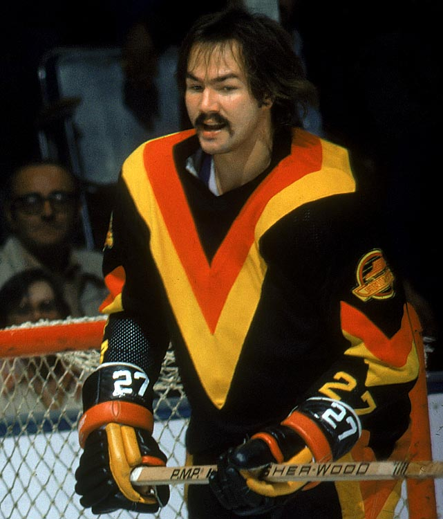 The Canucks defenseman of the '70s looked like a roadie for Humble Pie...