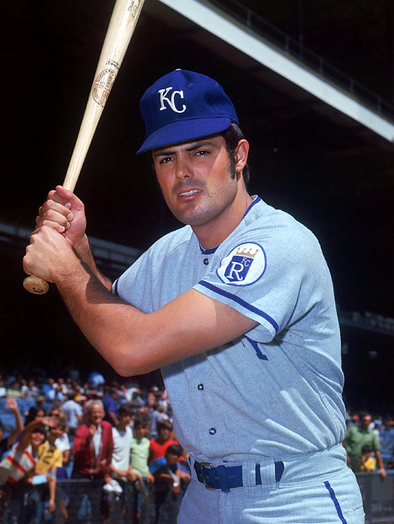 Lou Piniella was traded to the Kansas City Royals expansion franchise before the 1969 season. On an unspectacular fourth-place team, Piniella was a bright spot, batting .282 with 11 homers in 1969 and winning the AL Rookie of the Year award.