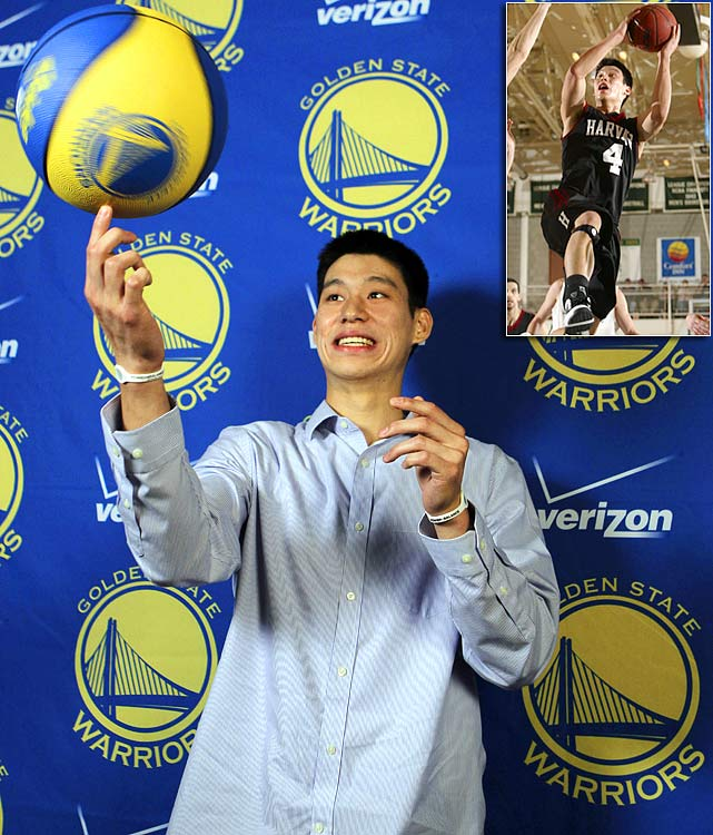 After Jeremy Lin's impressive performance with the Mavericks' summer-league team, the Warriors signed the Asian-American rookie point guard from Harvard to a two-year, partially guaranteed contract -- a rarity for an undrafted player.<br><br> Once the regular season starts, Lin will be bidding to join the short list of former Ivy Leaguers to play in the NBA. According to Basketball-Reference.com, only 40 such players have appeared in an NBA or ABA game. Here are the most notable Ivy Leaguers to make it as pros.