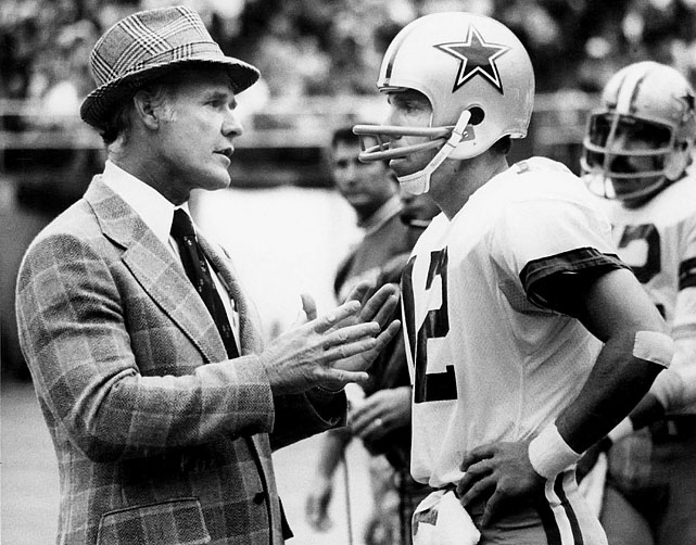 Tom Landry and Roger Staubach personified the virtue of patience in the game of football. Staubach waited through four years of military service and three years as a back up before getting his opportunity to start for the Cowboys. Landry began his first and only head coaching job with an 0-11 season in 1960, and followed that year up with five or fewer wins in each of the next four seasons. The results: Staubach led the Cowboys to four NFC titles and two Super Bowl victories and Landry guided the franchise to 20 consecutive winning seasons from 1966 to 1985, and both are enshrined in the Pro Football Hall of Fame in Canton, Ohio.