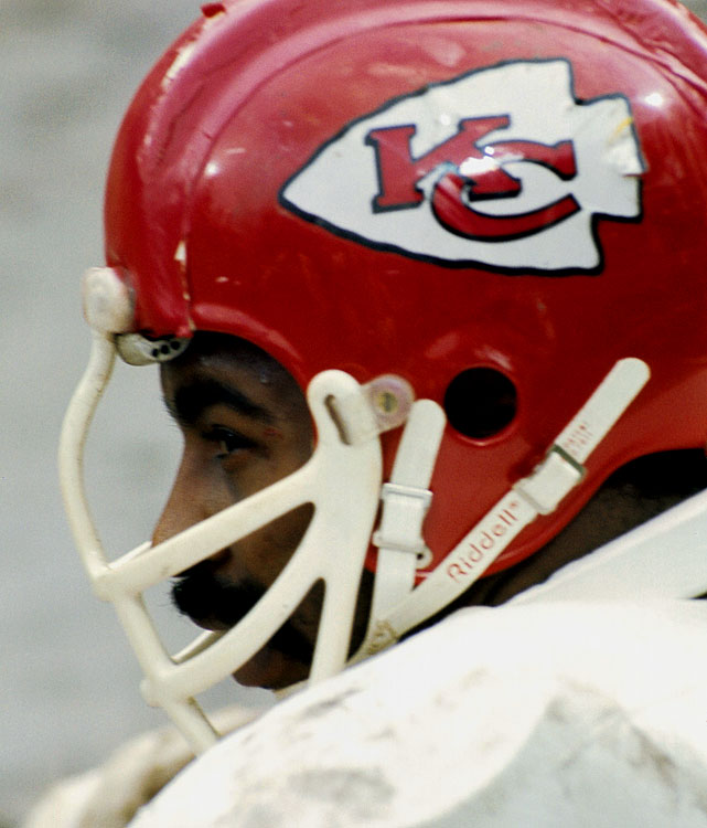 Willie Lanier of the Kansas City Chiefs finished his career with 27 interceptions from his linebacker position and was inducted into the Hall of Fame in 1986. Lanier made eight Pro Bowls and was first-team All Pro three times during an 11-year career.