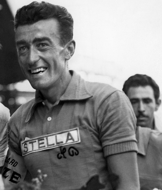 Bobet didn't start racing professionally until after World War II, in which he fought for the French. Beginning in 1947, he slowly crept up the standings (fourth in 1948, third in 1950) before breaking through in the 50th anniversary of the Tour in 1953. By 1955, his threepeat conclusion, Bobet had developed saddle sores that some believed were early signs of cancer that would claim his life in 1983 at the age of 58.