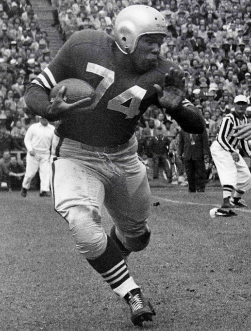 Fletcher Joseph Perry went undrafted out of Compton Community College and went on to become a vital cog in the ground game of the San Francisco 49ers of the late 1940's and 1950's.