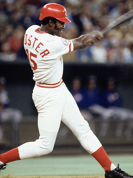 In 1977, George Foster became the only player between Willie Mays in 1965 and Cecil Fielder in 1990 to hit 50 home runs and had more RBIs than any other payer between Tommy Davis's 153 in 1962 and Andres Galarraga's 150 in 1996, but while he led a quarter century in both of those categories, he still fell 18 points shy of Dave Parker's NL-best .338 average.
