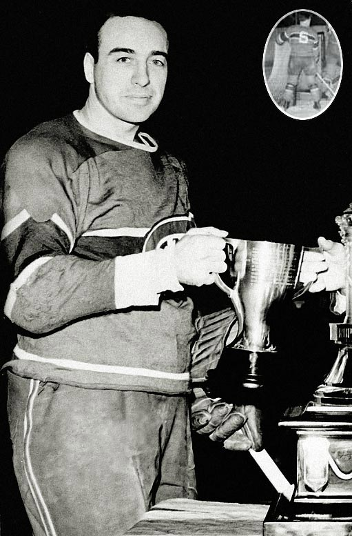 Before he became hockey's greatest coach, Blake -- whose first name was Hector -- spent 11 seasons on Montreal's famed Punch Line, winning the Hart Trophy in 1939.
