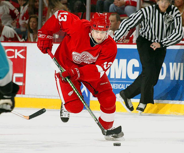 The number was lucky for Mats Sundin and Teemu Selanne, but neither can match the two-way artistry of Datsyuk.