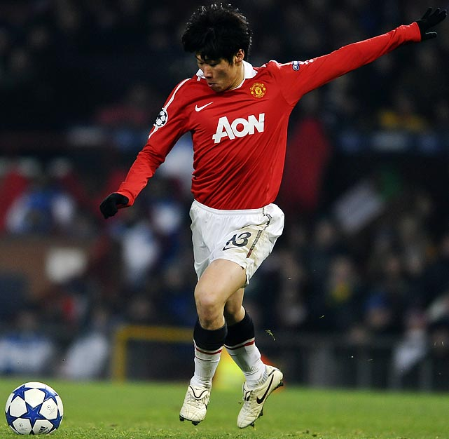 Manchester United midfielder Park Ji-Sung, a native of South Korea, donated $88,000 to the relief efforts.