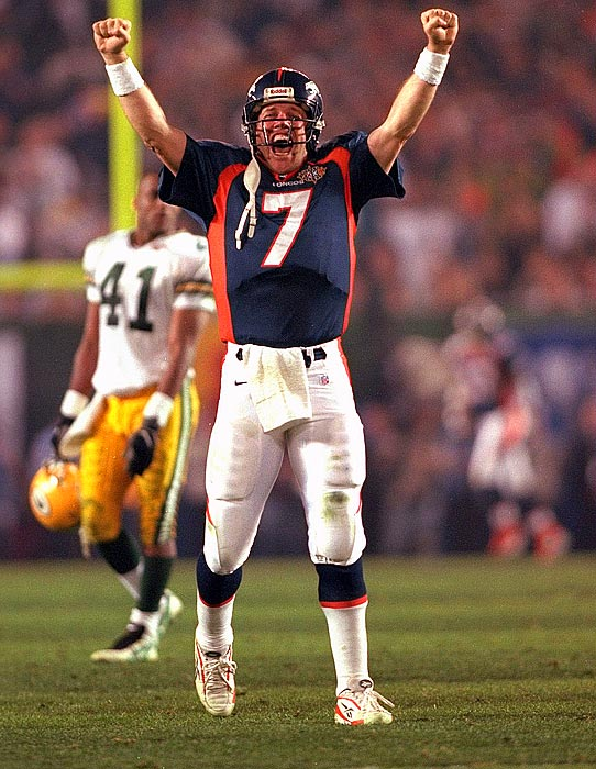 The Hall of Famer concluded his career in the best way possible -- with back-to-back Super Bowl wins. Unfortunately for the Colts, the nine-time Pro Bowler demanded a trade out of Baltimore before taking a snap. Elway played his entire career with the Broncos and compiled a 148-82-1 record. He finished with 300 touchdown passes, fifth-best in league history.