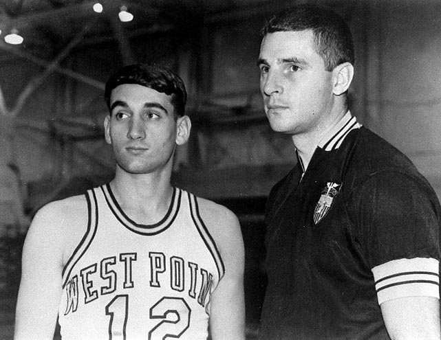 Before Krzyzewski was coaching under Bobby Knight he was playing for him. Knight was the head coach at Army during Krzyzewski's collegiate career, which included a 1969 berth in the NIT.