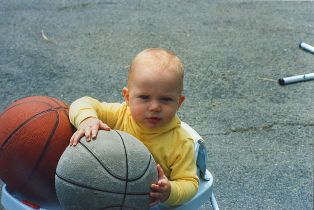 Kevin Love, the NBA's 2011 rebounding champ and Most Improved Player, recently signed a four-year extension to stay with the Timberwolves. Here's a look at the All-Star power forward before he made it big in the pros ... going all the way back to 1989, when he was just 6 months old.
