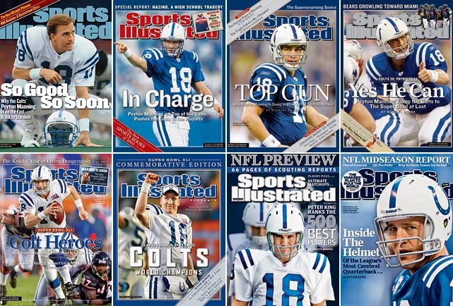 These are the best first-round draft picks since the A  FL-NFL merger in 1970.   Like Elway in Denver, Manning will always be remembered as an  Indianapolis Colt, a fact that made his recent move to the Broncos such a  headline-grabber. Manning already owns 11 Pro Bowl trips, eight All-Pro  nominations, four NFL MVPs, as well as a Super Bowl trophy and MVP  honor. Manning's incredible ability to read defenses and make  adjustments at the line led to the Colts giving him more control of the  offense than just about any quarterback has ever had.  It can be argued that the NFL may have seen greater players than  Manning, and possibly even greater quarterbacks. No player taken No. 1  overall since 1970, however, has been better than Manning.   Runner-ups:  John Elway (1983, Colts) and Bruce Smith (1985, Bills)   Honorable Mention:  Mario Williams (2006, Texans); Eli  Manning (2004, Chargers); Michael Vick (2001, Falcons); Orlando Pace  (1997, Rams); Drew Bledsoe (1993, Patriots); Troy Aikman (1989,  Cowboys); Bo Jackson (1986, Buccaneers); Earl Campbell (1978, Oilers);  Lee Roy Selmon (1976, Buccaneers); Terry Bradshaw (1970, Steelers)