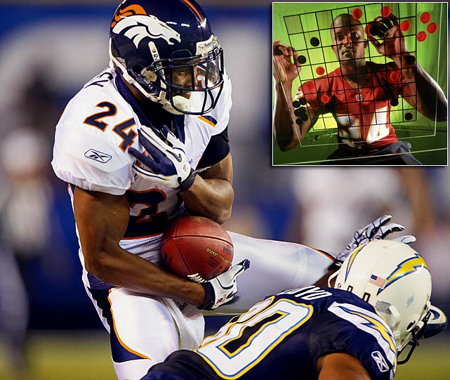 Bailey has been an elite playmaker at corner, even as he enters the late stages of his career.   His Credentials:  11-time Pro Bowl selection,  six-time All-Pro, named to NFL's All-Decade Team for the 2000s, 50  career interceptions, member of Broncos' 50th anniversary team   Others in Consideration:  Adrian Peterson (2007,  Vikings); Thomas Jones (2000, Cardinals); Bryant Young (1994, 49ers);  Sterling Sharpe (1988, Packers); Phil Simms (1979, Giants)