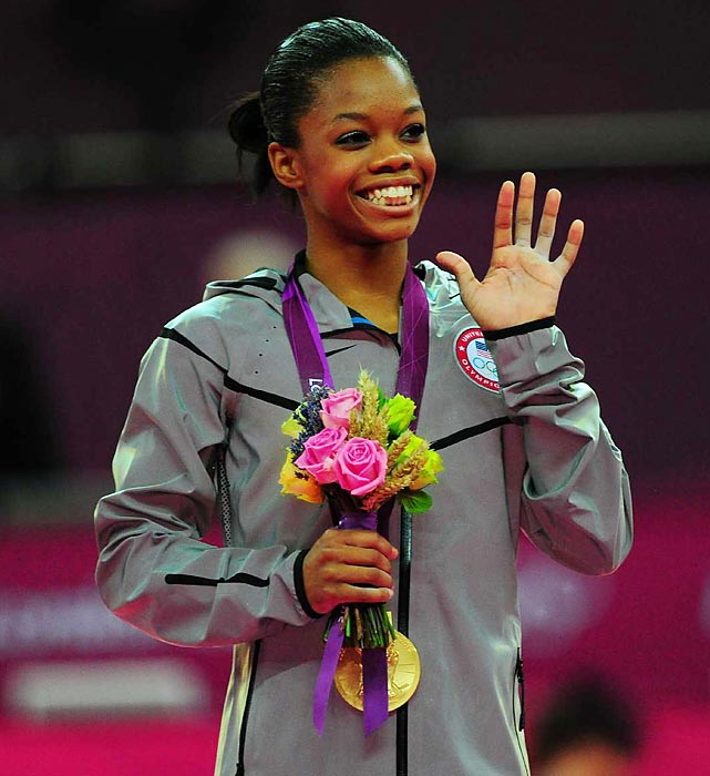 U.S. gymnast Gabby Douglas won the women's all-around on Thursday, becoming the third straight American to win gymnastics' biggest prize. The 16-year-old Douglas, who grew up in Virginia Beach, claimed her second gold medal of the London Games. In honor of the Flying Squirrel, as she's known to fans, SI presents classic photos of Gabby Douglas.
