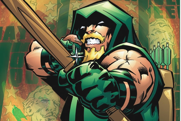 """I like the Connor Hawke [version of Green Arrow]. He's the one I grew up with and the one I remember reading."""