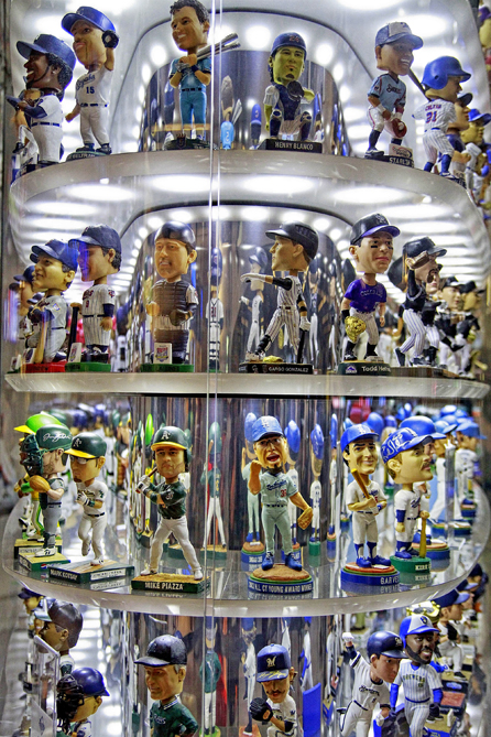 You have to check out the amazing bobblehead museum. It has statues of your team's greatest players. And don't forget to look at the fish tanks, as well as the big sculpture in leftfield.