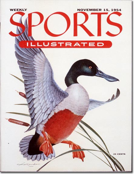 The first bird ever on the cover of SI. Surprisingly, not the last.