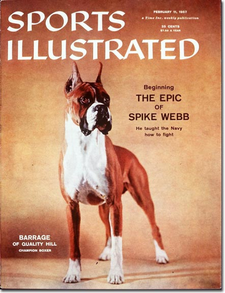 When you think of boxers on the cover of SI, this usually isn't the first one that comes to mind.