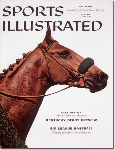 Coming into the 1958 Kentucky Derby, Silky Sullivan was a favorite, but he came up short in the race.