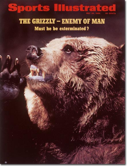 Sports Illustrated was afraid of grizzlies long before Stephen Colbert was.