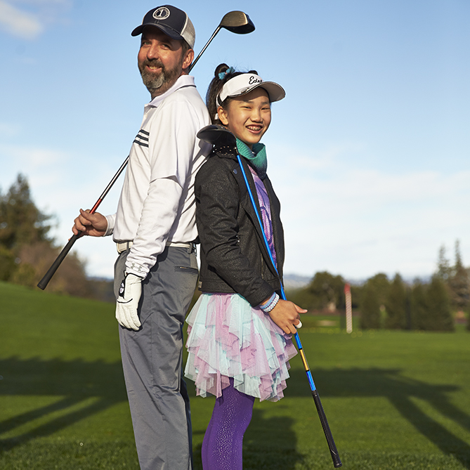 I wanted to see what it was like to play golf against a phenom, so I challenged 12-year-old Lucy Li. I learned my lesson.