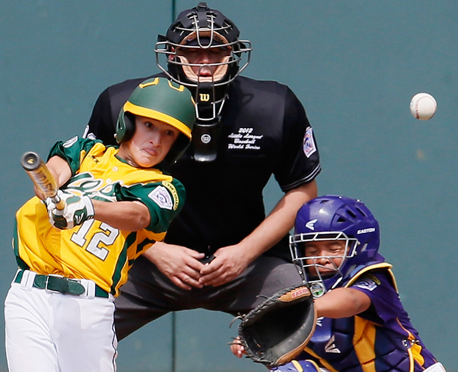<p>I love to play baseball in the summer because it's a team sport, so you can have fun with friends and enjoy the heat of the sun. — Jack, 10, Illinois</p>                   <p>                   <p>I love the amazing catches, great hits, and hanging out with your friends, too — Jaxon, 11, Iowa</p>                   <p>                   <p>I love the feeling off hitting the ball over the fence for a walkoff and getting mobbed by my teammates. — Kevin, 10, New York</p>                   <p>                   <p>Baseball is basically the best sport to play because of the weather. — Owen, 12, Kentucky</p>
