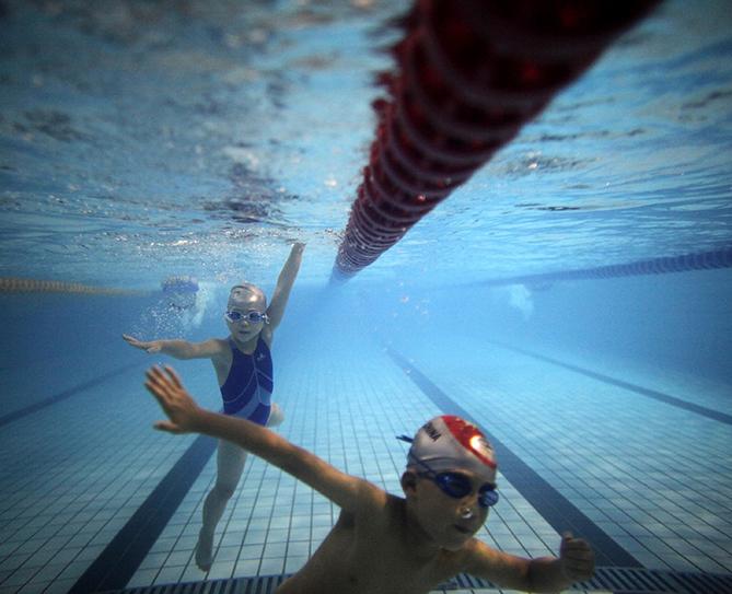 Swimming. It feels great when it's hot outside! — Jackson, 11, Texas