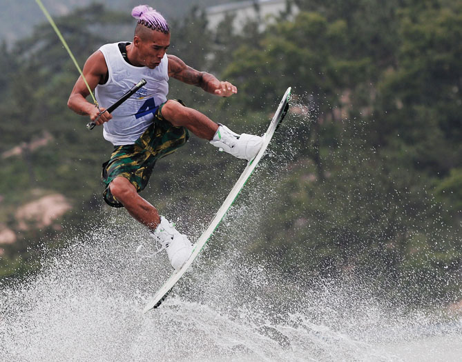 Wakeboarding is a combination of a few different sports, like surfing and water skiing, and it will definitely cool you off during the summer. Innovation and technology have allowed for major growth on the professional scene while also making it easier to just have fun.