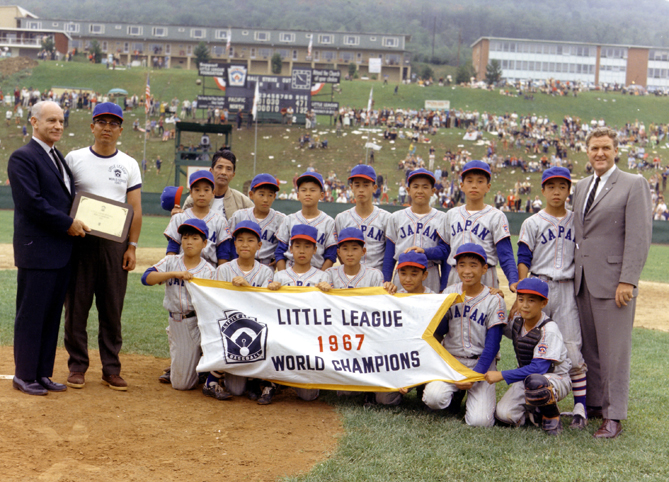 The first international Little League teams are formed in Panama in 1950. (Teams would join from Canada soon after.) And with these teams from other countries, the Little League World Series is a truly global competition. In 1952, a team from Montreal was the first international club to play in the World Series, and in 1957 the Industrial Little League from Monterey, Mexico, became the first international team to win the tournament. West Tokyo Little League Pacific was the the first team from Asia to win the championship, doing it in 1967.
