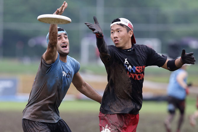 Students invented ultimate Frisbee in the 1960s and it quickly became a craze. There are usually seven players on each team, so the game is ideal to play with a big group of friends on summer days.