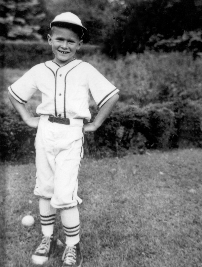 There are lots of famous non-professional athletes with Little League experience, too. Actors, writers, musicians, astronauts, and even a President of the United States played Little League when they were kids! Here's former President George W. Bush from his Little League days in the 1950s.
