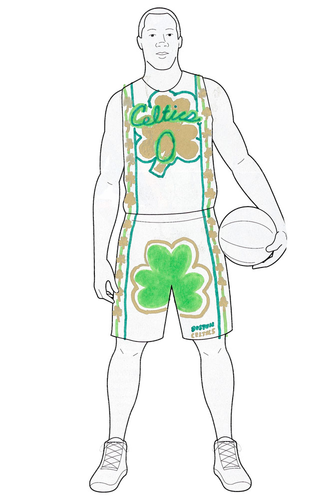 ...but we aren't so sure the Celtics will have much luck in theirs.                    <p>                   Cameron, 13, Massachusetts