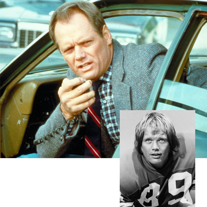 Dryer spent 13 years as a menacing NFL defensive end and later became a no-nonsense detective in the 1980s TV drama <i>Hunter</i>. He also had a star turn playing a sportscaster on the TV comedy <i>Cheers</i>.