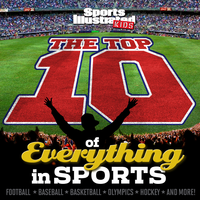 "Want more great Top 10 lists? Then pick up SI Kids' <i>The Top 10 of Everything in Sports</i>! The book is available in bookstores on on <a href=""http://www.amazon.com/Sports-Illustrated-Kids-Everything-SPORTS/dp/1618930796/ref=sr_1_1?ie=UTF8&qid=1424406504&sr=8-1&keywords=top+10+of+everything+in+sports"" target=""_blank"">Amazon</a>."
