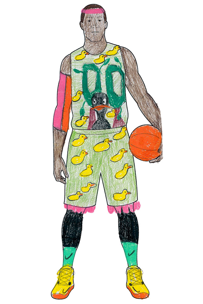 Hey, Nike! Oregon needs more uniform combos, don't you think?                    <p>                   Tommy, 10, Ohio
