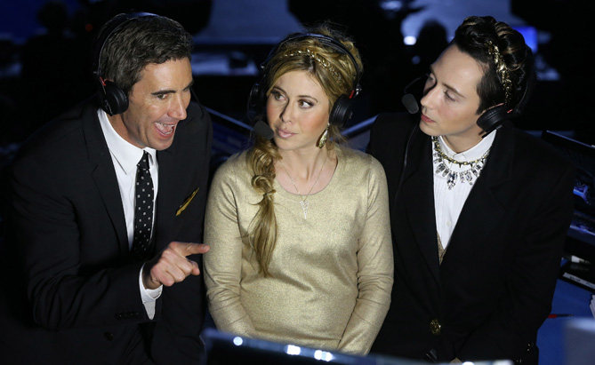 Terry Gannon, Tara, and Johnny discuss the Figure Skating Ladies' Free Skating on day 13 of the Sochi 2014 Winter Olympics.