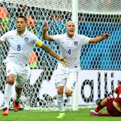 U.S. national team stars Clint Dempsey, left, and Michael Bradley are helping carry the flag for MLS at the 2014 World Cup.