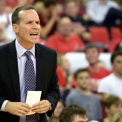 Chris Collins is working toward becoming the first Northwestern coach to guide the Wildcats to the NCAA tournament.