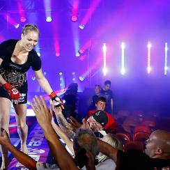 In pound-for-pound rankings, is Ronda Rousey suffering from a lack of competition or outdated ideas?