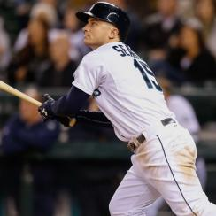 Kyle Seager's 14 home runs and .485 slugging percentage lead the Mariners, and his .350 on-base percentage is second only to Robinson Cano.