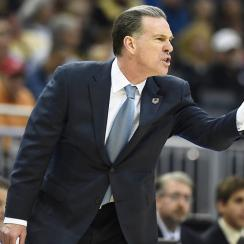 Jamie Dixon says that he tries to schedule more difficult opponents for Pitt, but that teams don't want to play at the Panthers' Petersen Events Center.